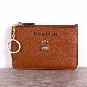 Michael Kors Adele Zip ID Coin pouch Card Holder